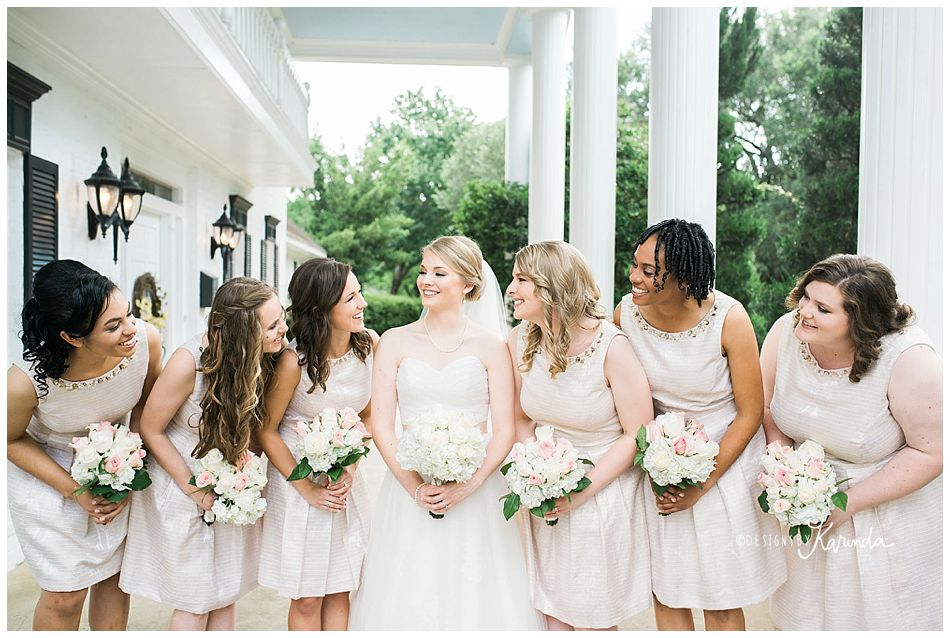Woodland manor wedding