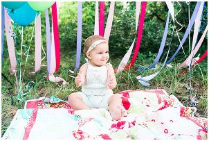 Cake Smash 1 year pictures Montgomery