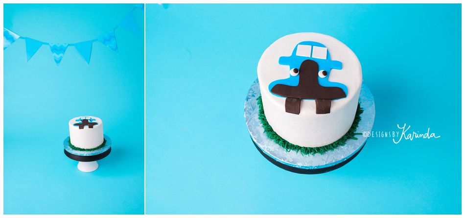 Bavarian Cakery Houston Cake Smash Cake Blue Truck