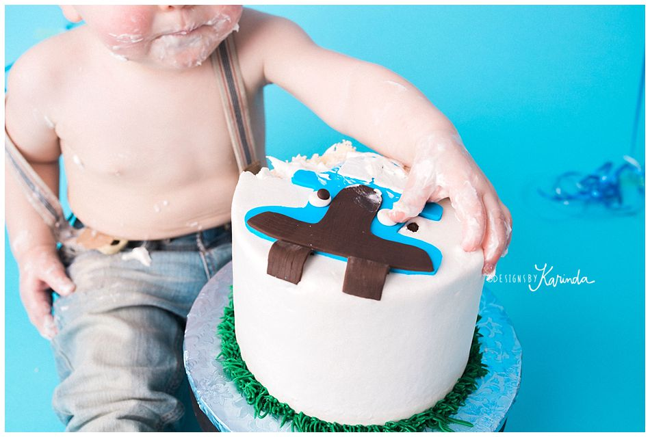 Montgomery Kids Photography Cake Smash 1 year pictures