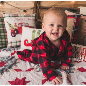 Montgomery,TX Photography Kids Christmas PJ Mini Session The Woodlands,TX