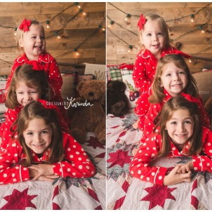 Montgomery Kids Christmas PJ Minis Magnolia Tomball The Woodlands Conroe Kids Photography